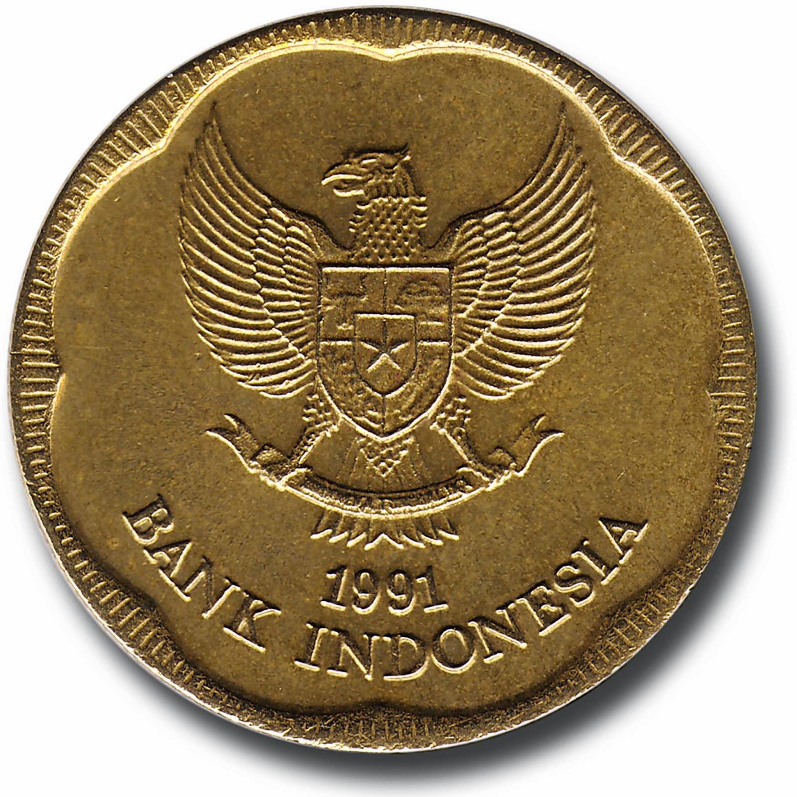 Uang Logam 500 Rupiah