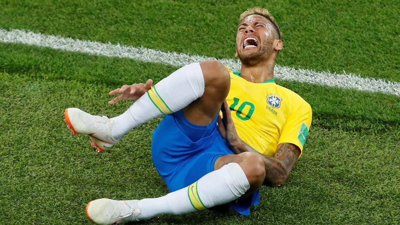 neymar diving