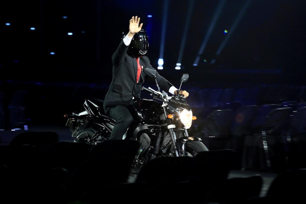 Ini Dia Fakta Stuntman Presiden Jokowi Saat Opening Ceremony Asian Games 2018