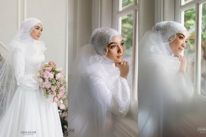 Citra Kirana Unggah Potret Kenakan Gaun Pengantin, Rezky Aditya: Punya Gue! citra kirana - Viralnesia