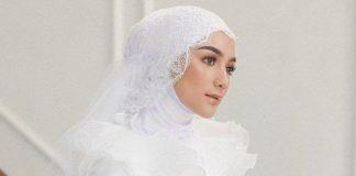 Citra Kirana Unggah Potret Kenakan Gaun Pengantin