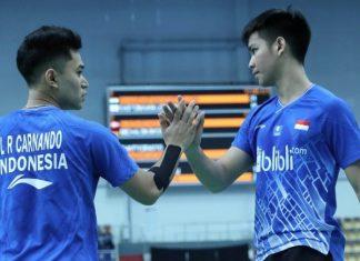 Kalahkan Wakil China, Leo/Daniel Juara Dunia Junior 2019
