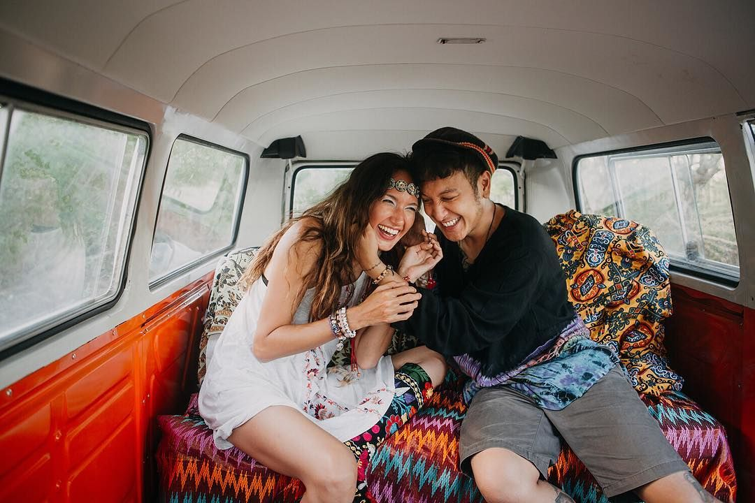 9 Potret Nadine & Dimas Anggara, Pre Wedding