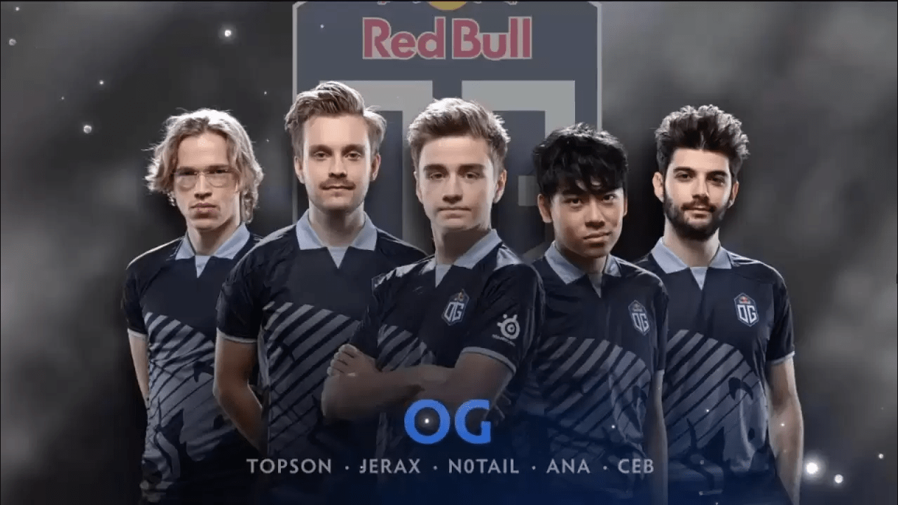 Team esport Dota 2 OG