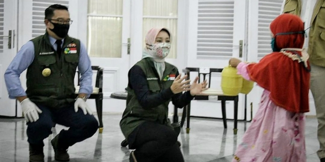 Photo of Temui Ridwan Kamil Bocah 7 Tahun Bawa Celengan Buat Beli Masker