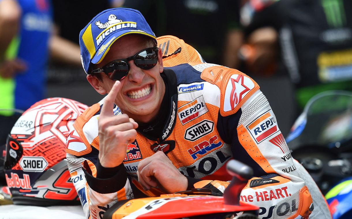 Pembalap MotoGP Repsol Honda Marq Marquez