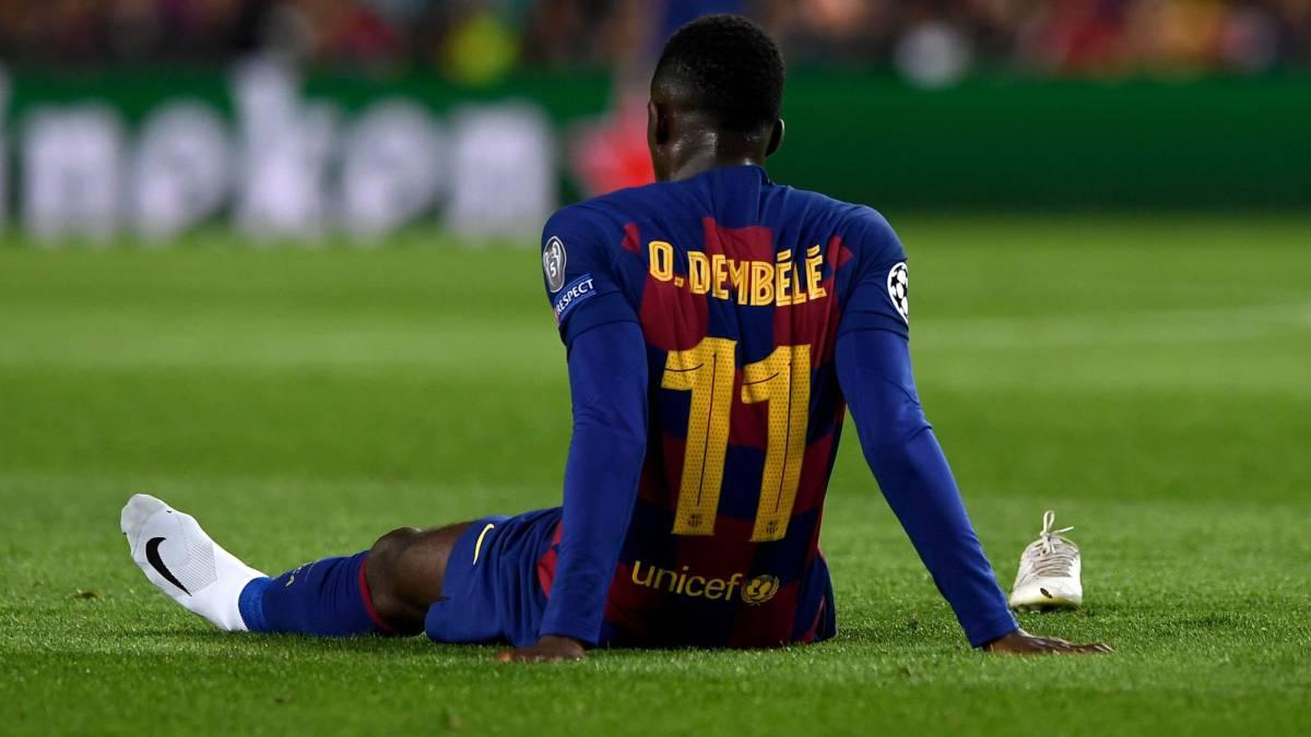 Barcelona Diskon Besar Ousmane Dembele 40%
