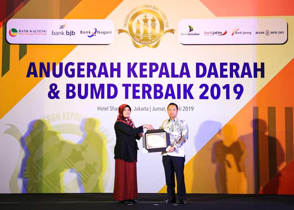 penghargaan kepada bank bjb