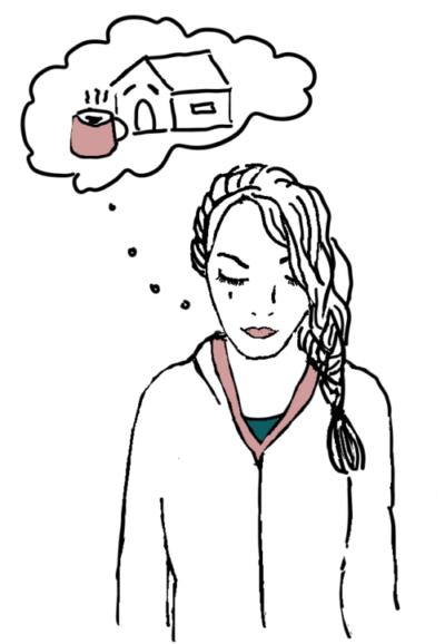 Penawar rasa Homesick wanita