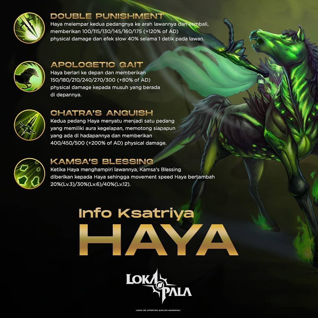 Lokapala - Haya