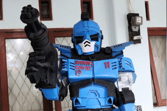 Photo of Robot Covid19 Satgas Anti Kerumunan Warga