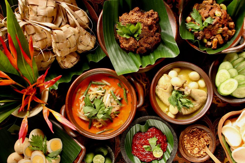 Makanan khas lebarang di rumah
