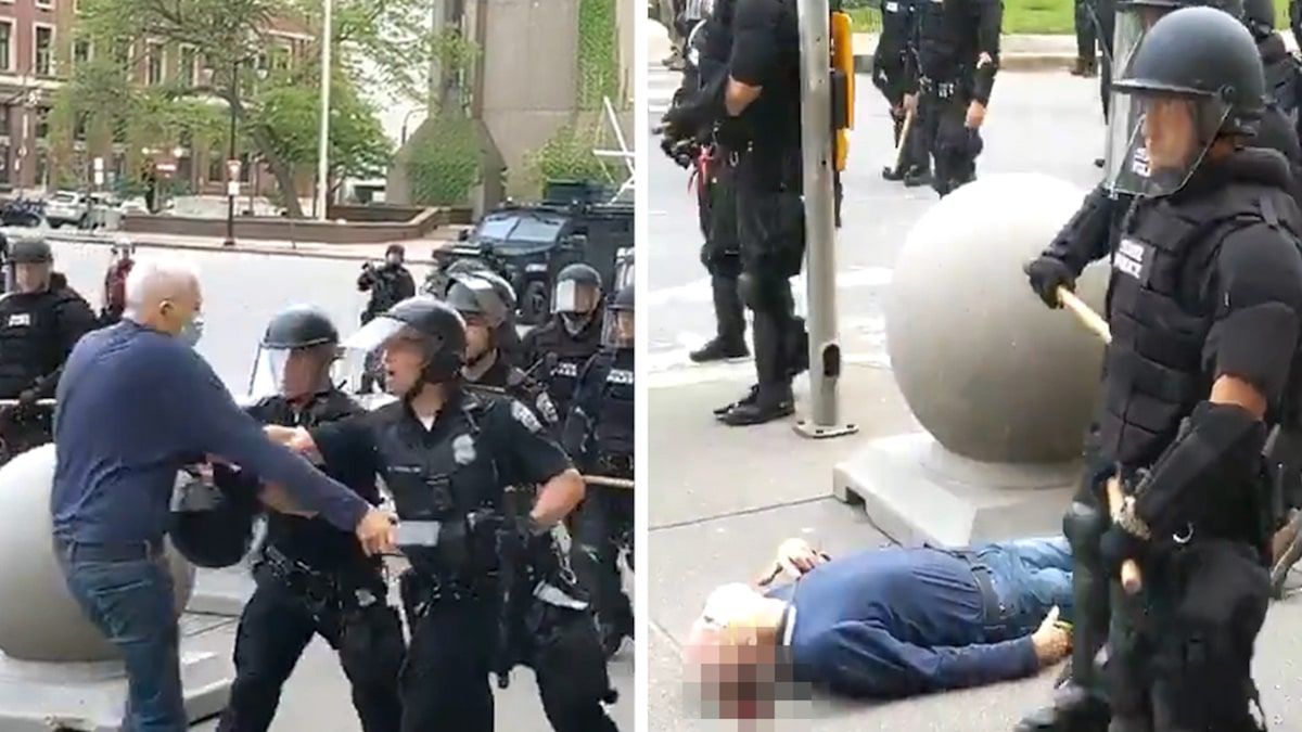Photo of Seluruh Tim Tanggap Darurat Buffalo Mengundurkan Diri Dalam Solidaritas Dengan Polisi Yang Mendorong Orang Tua