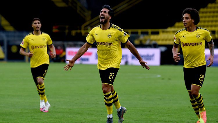 Dortmund vs Hertha Berlin, Menang Tipis