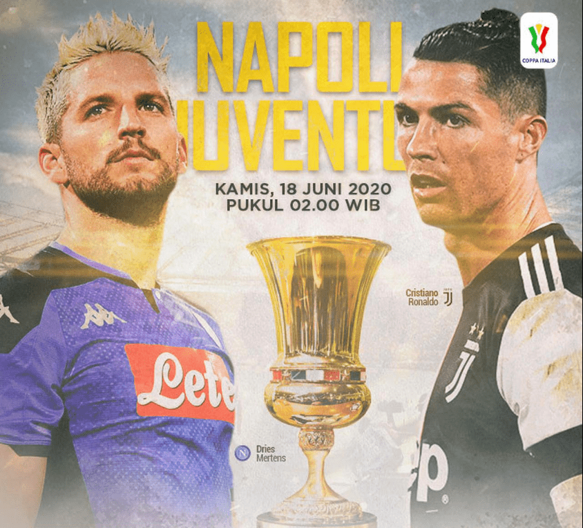 Photo of Juventus vs Napoli, Siap Ramaikan Coppa Italia