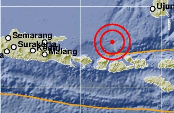 Gempa Terkini di Pulau Saringi Nusa Tenggara Barat
