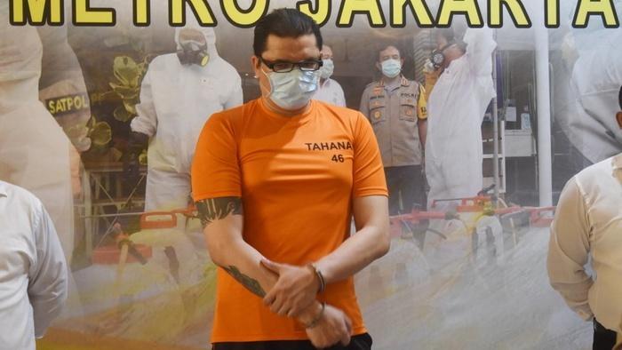 Photo of Jerry Lawalata Tersangka Kasus Sabu