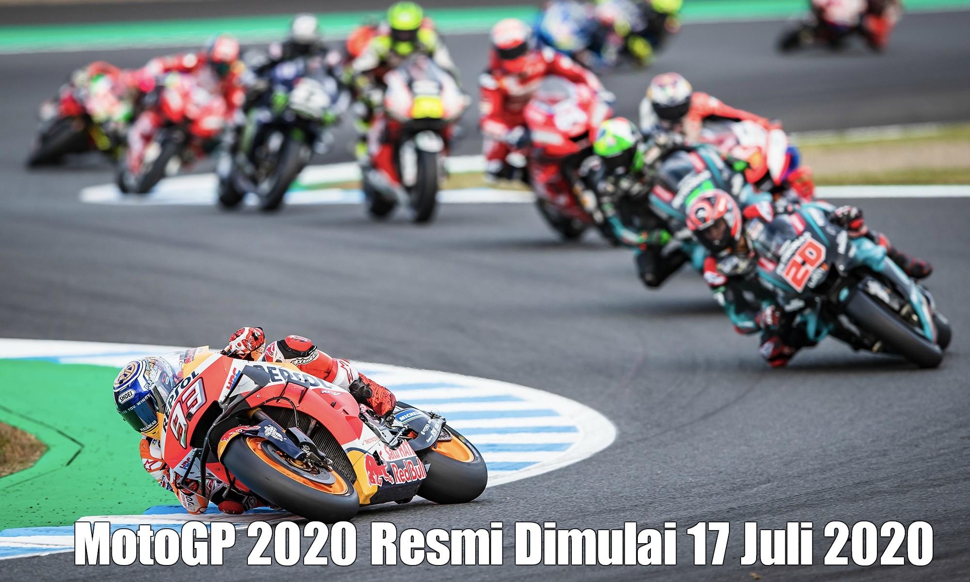 Photo of MotoGP 2020 Resmi Dimulai 17 Juli