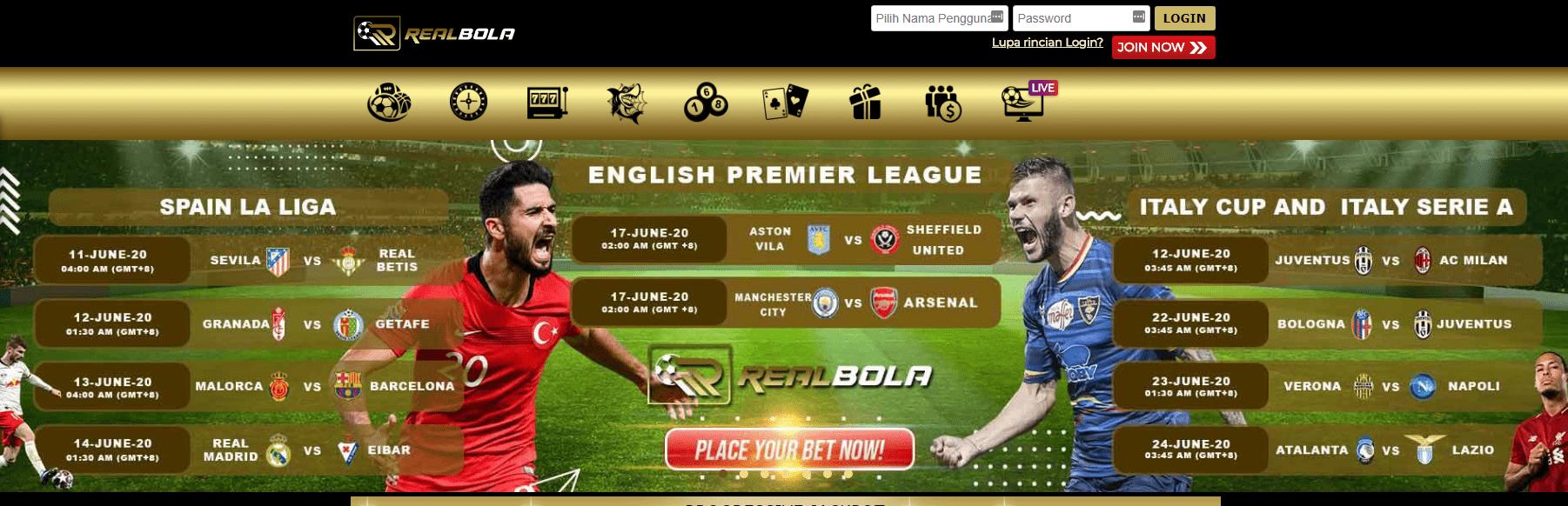 Situs permainan online Realbola