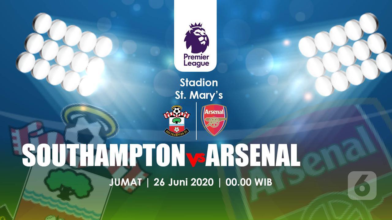 Sounthampton vs Arsenal