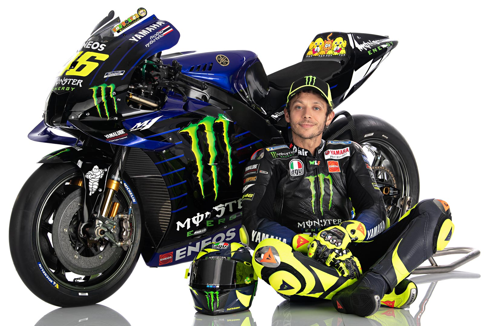 Photo of Valentino Rossi Akan Gabung Petronas Yamaha 2021