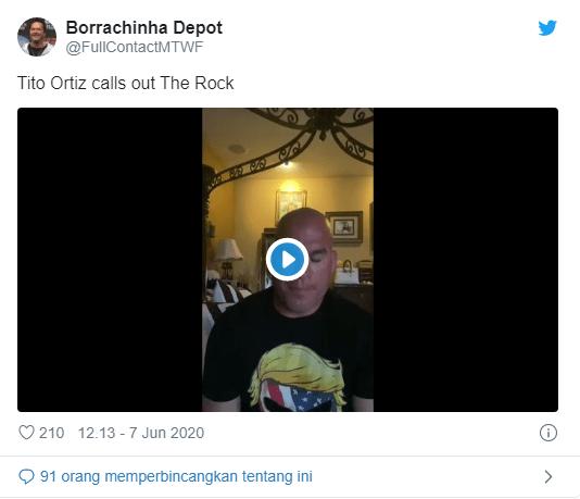 Video Tito Menantang Dwayne Johnson
