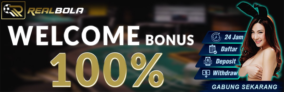 welcome bonus realbola