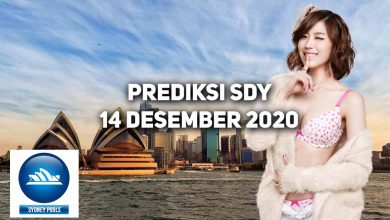 Photo of Prediksi Togel Sydney 14 Desember 2020