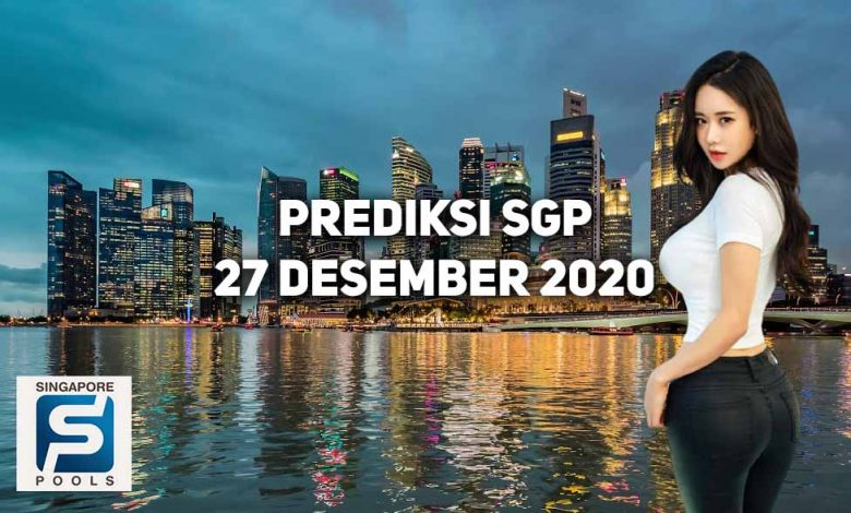 Prediksi Togel Singapore 27 Desember 2020 Prediksi Togel Singapore 27 Desember 2020 - Viralnesia