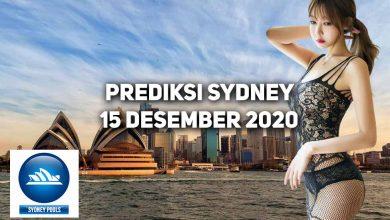 Photo of Prediksi Togel Sydney 15 Desember 2020
