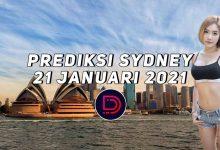 Photo of Prediksi Togel Sydney 21 Januari 2021
