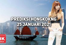 Photo of Prediksi Togel Hongkong 25 Januari 2021